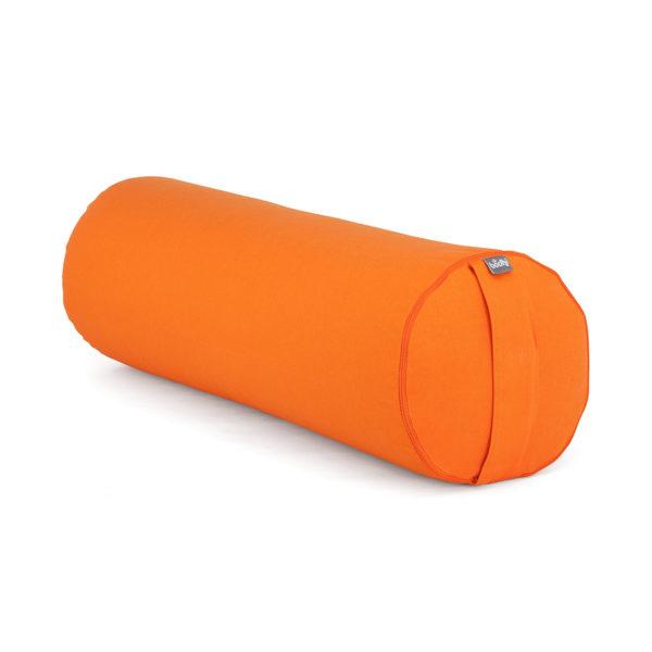 Yoga BOLSTER BASIC orange | Dinkelhülsen
