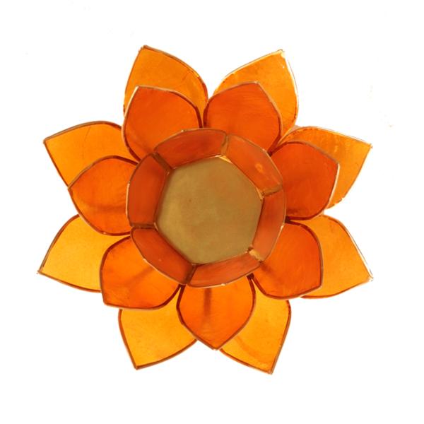 Lotus Leuchte - Orange