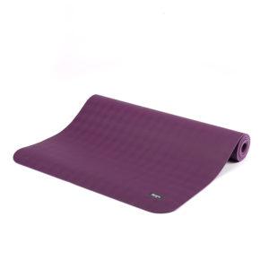 Naturkautschuk Yogamatte ECOPRO schilfgrün 4 mm, 185 x 60 cm - extrem rutschfest!
