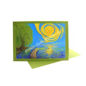 Ein Licht Trauer Trost Hoffnung - Doppelkarte
