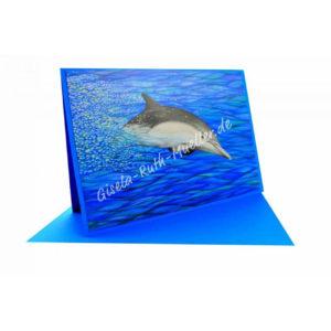 Energie-Delphin - Doppelkarte