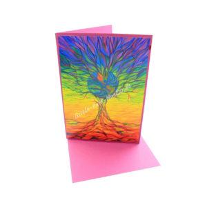 Lebensbaum-Erde - Doppelkarte