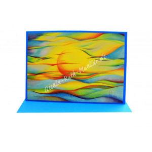 Sonne - Energie des Lebens - Doppelkarte