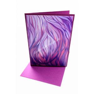 Violette Flamme - Doppelkarte