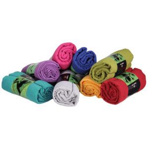 Yogatuch GRIP ² Yoga Towel mit Antirutschnoppen Mit Antirutschnoppen