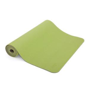 TPE Yogamatte LOTUS PRO blau/hellblau 6 mm - weiche, griffige Oberfläche, recyclebar