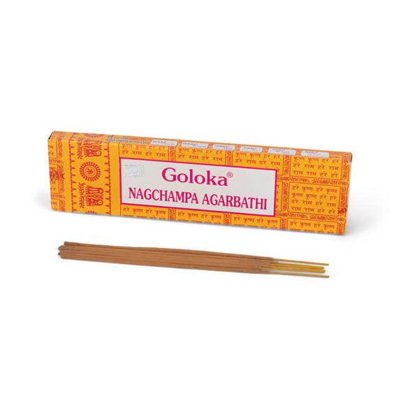 Goloka Nag Champa Räucherstäbchen, 16 g