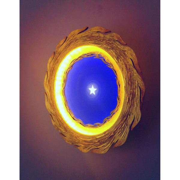spiritual eye - yoga - meditation lamp