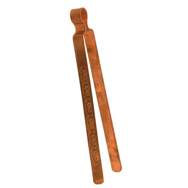 Kupferzange mit Gravur 22 cm lang, 15 mm breit