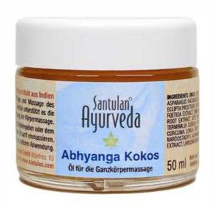 Abhyanga Kokosöl 50 ml Santulan-355