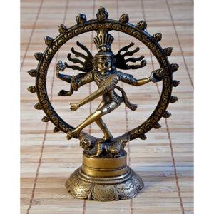 Shiva 20 cm aus Messing