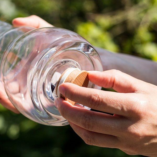 Nature`s Design - Wasserkrug Cadus 1 Liter, Edelsteinfach