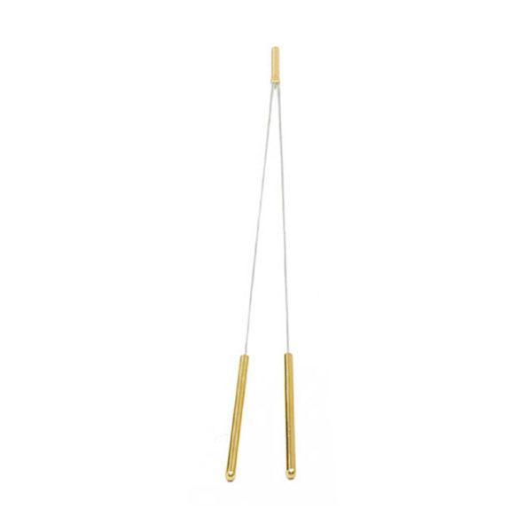 Wünschelrute mit Messinggriff, 40 cmzum Suchen nach dem Wasser