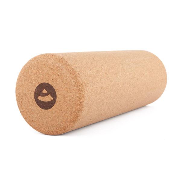 Faszien-Massage-Rolle, Kork Formstabil & Druckfest, Ø 15 x 45 cm