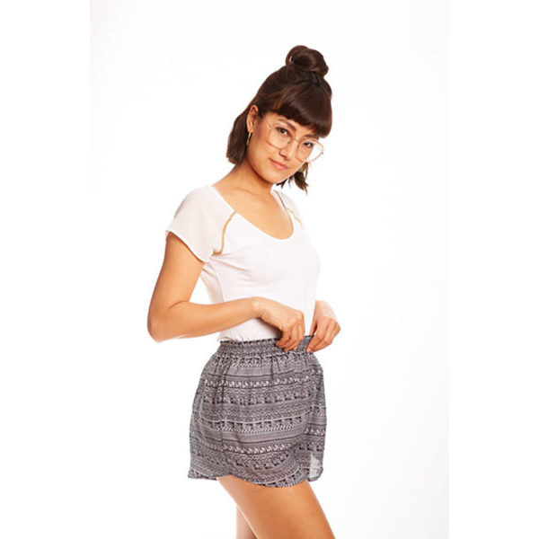 Schwarze Bambus Shorts von paigh
