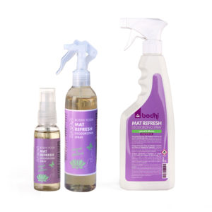 MAT REFRESH Deodorizing Spray 50 ml Yogamatten bequem erfrischen und reinigen