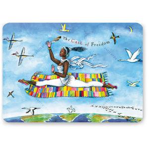 The Call of Freedom Shakticard, 14,8 x 10,5 cm