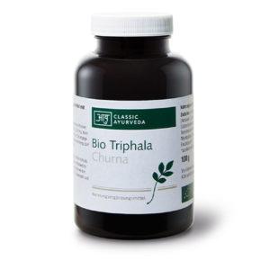 Triphala Churna (Pulver), bio