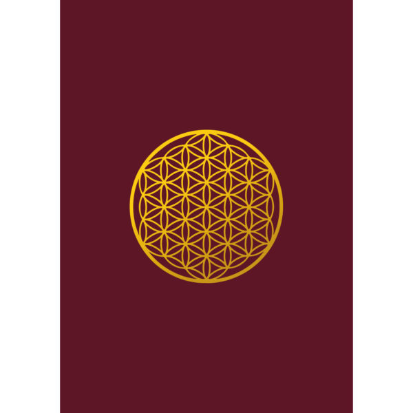 Blume des Lebens - Postkarte The Flower of lIfe